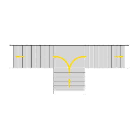 Trennbare treppen