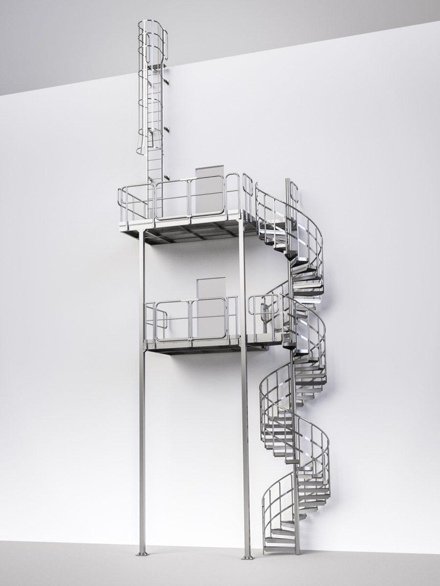 technische-treppe