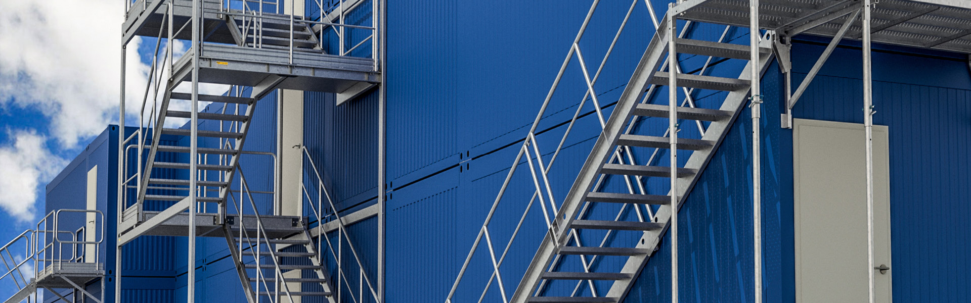 Containertreppe